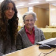 Computer Assistance for a Holocaust Refugee